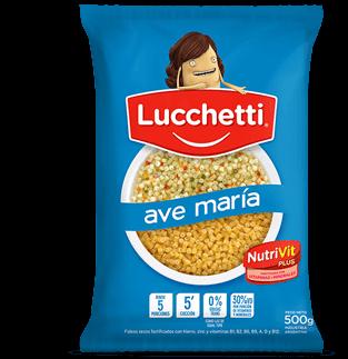 Fideos Lucchetti Ave Maria 500Grs