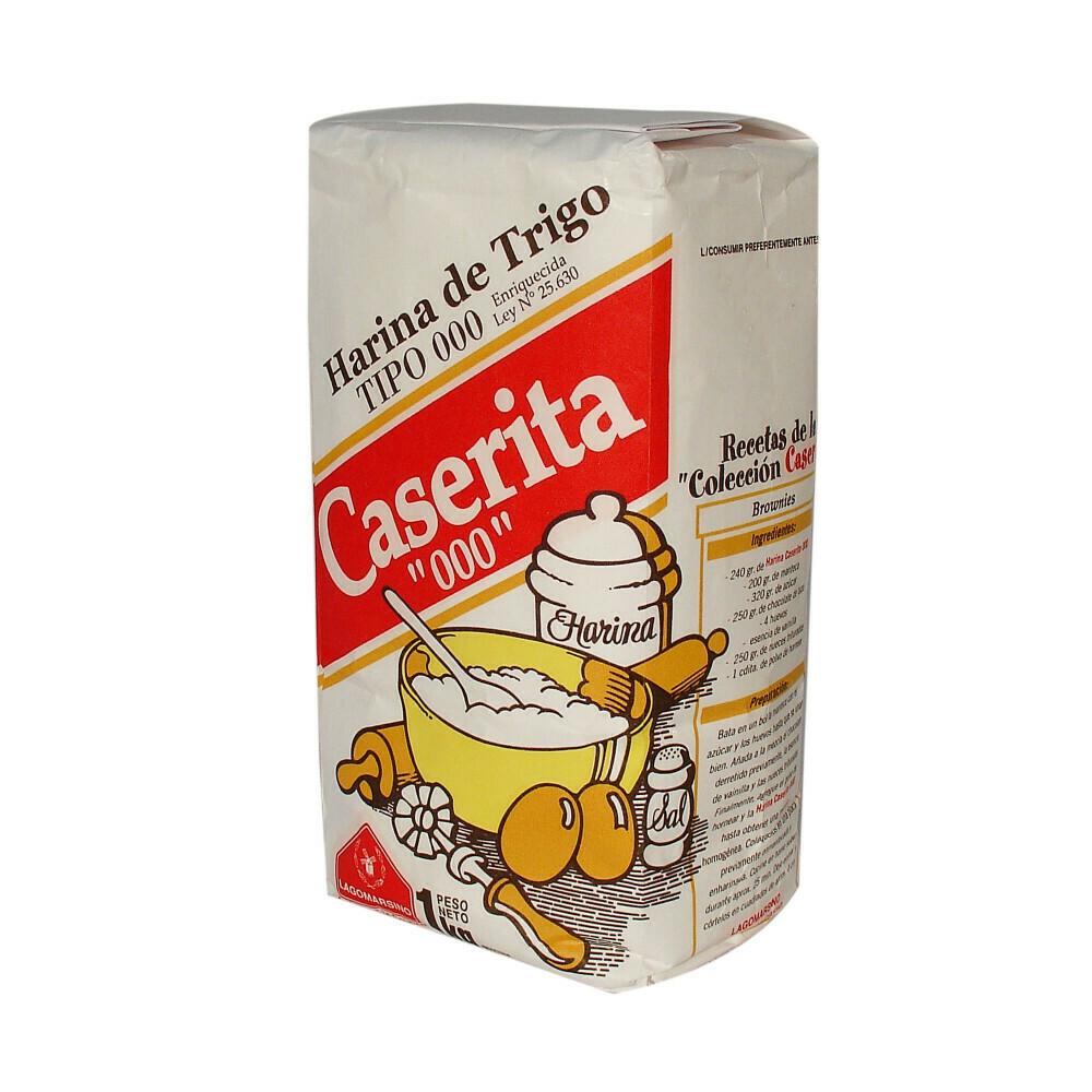 Harina Caserita 000 x1Kg