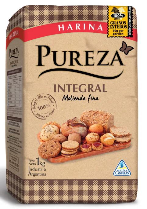 Harina Pureza Integral x1Kg