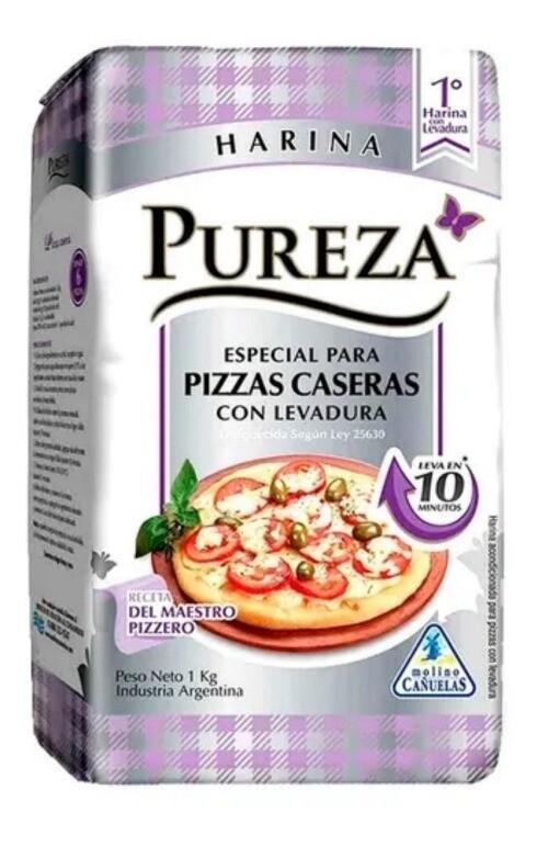 Harina Pureza Pizza Casera x1Kg