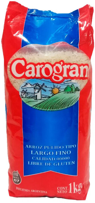 Arroz Largo Fino Carogram  x1Kg