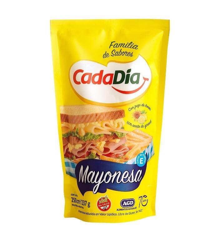 Mayonesa Cada Dia Liviana 250Cm