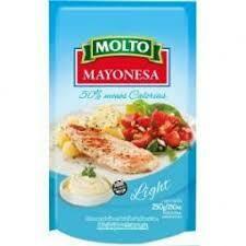 Mayonesa Molto LIGHT 250gr