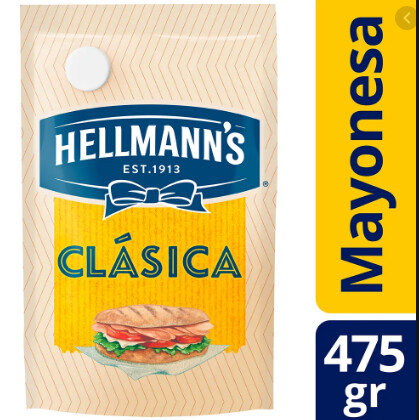 Mayonesa Hellmans 475g