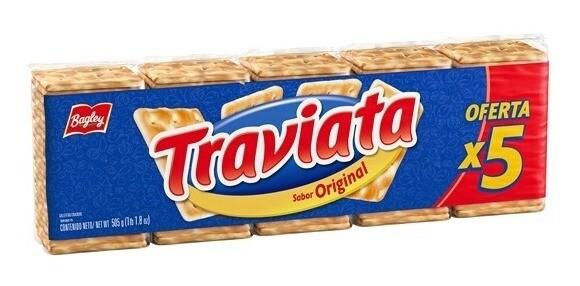 Galletitas Bagley Traviata 505Gr