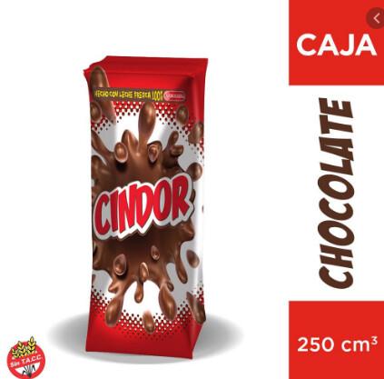 Leche Cindor Chocolatada 250ml