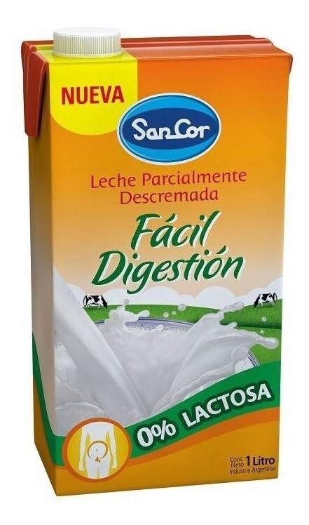 Leche Sancor Deslactosada 1L