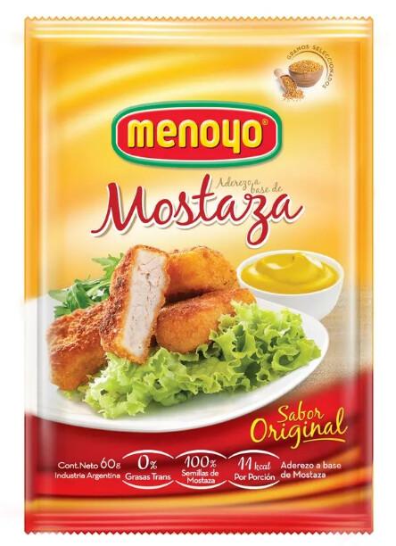Mostaza Menoyo 60g