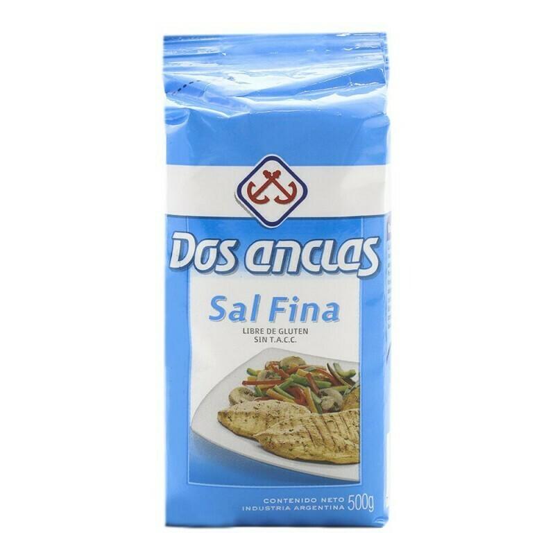 Sal Dos Anclas Fina 500g