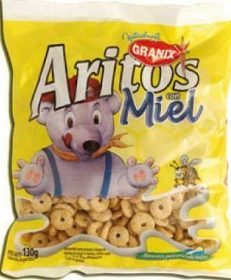 Cereal Granix Aritos MIEL
