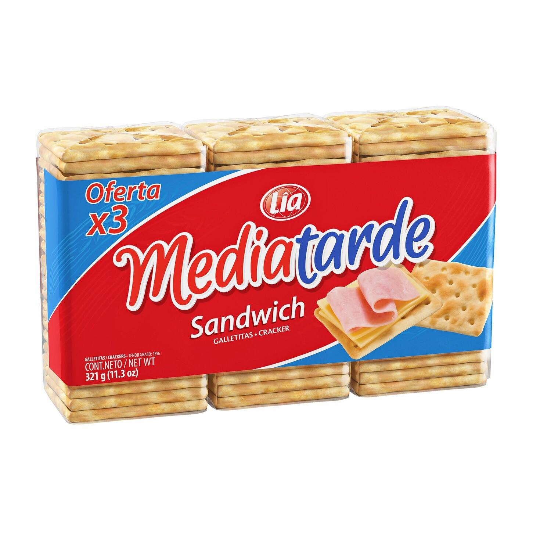 Galletitas Mediatarde Sandwich x321Gr