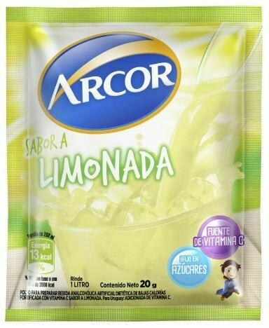 Jugo Arcor Sobre Limonada