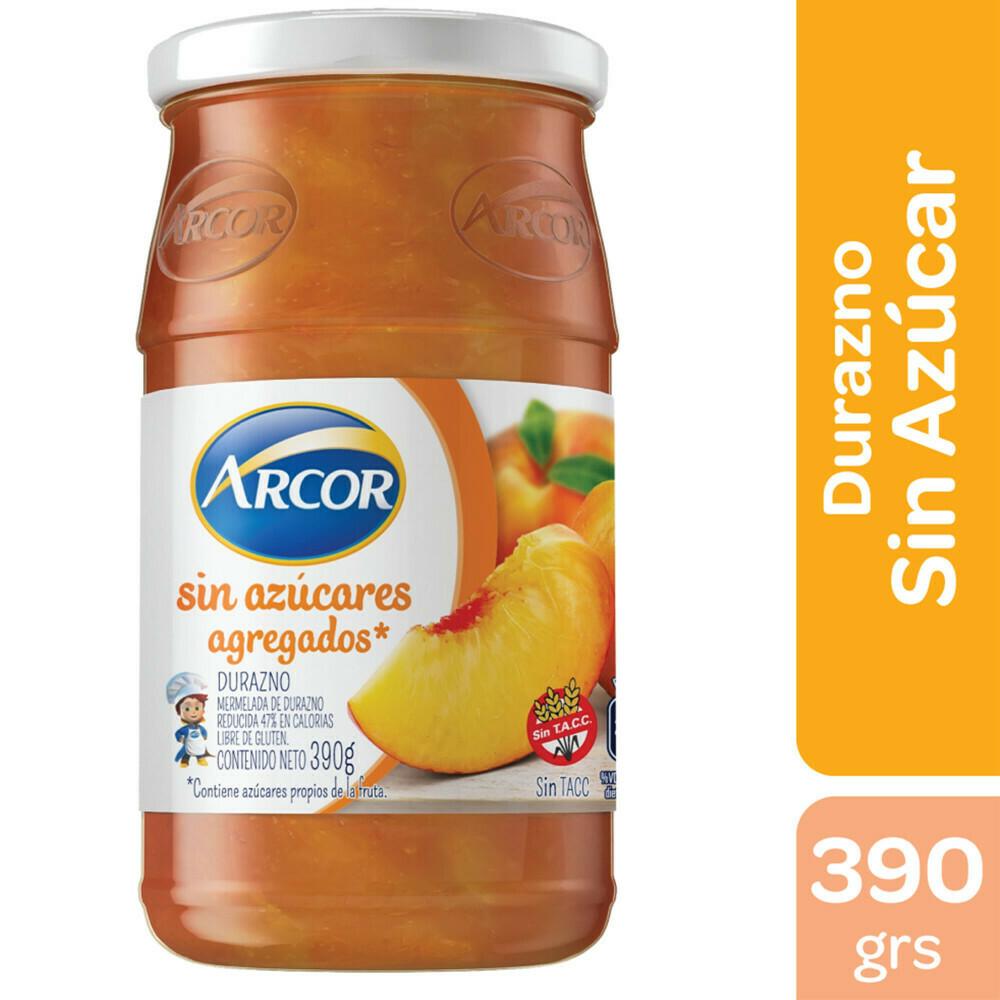 Mermelada Arcor Sin Azucar Durazno x390Gr