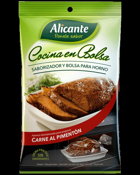 Alicante Con Bolsa Carne