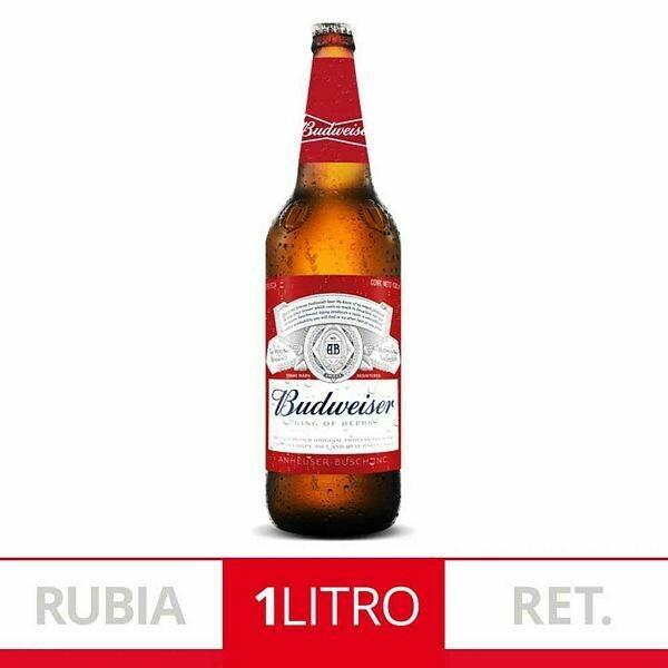Cerveza Budweiser 1L