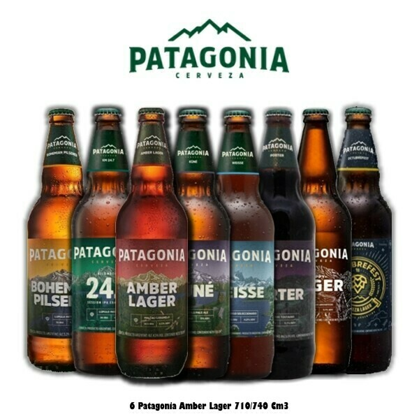 Cerveza Patagonia 1l