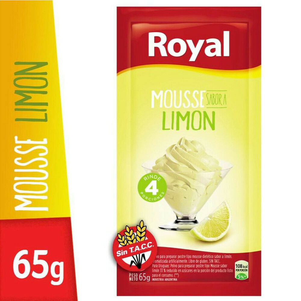 Mousse Limon Royal 65Gr