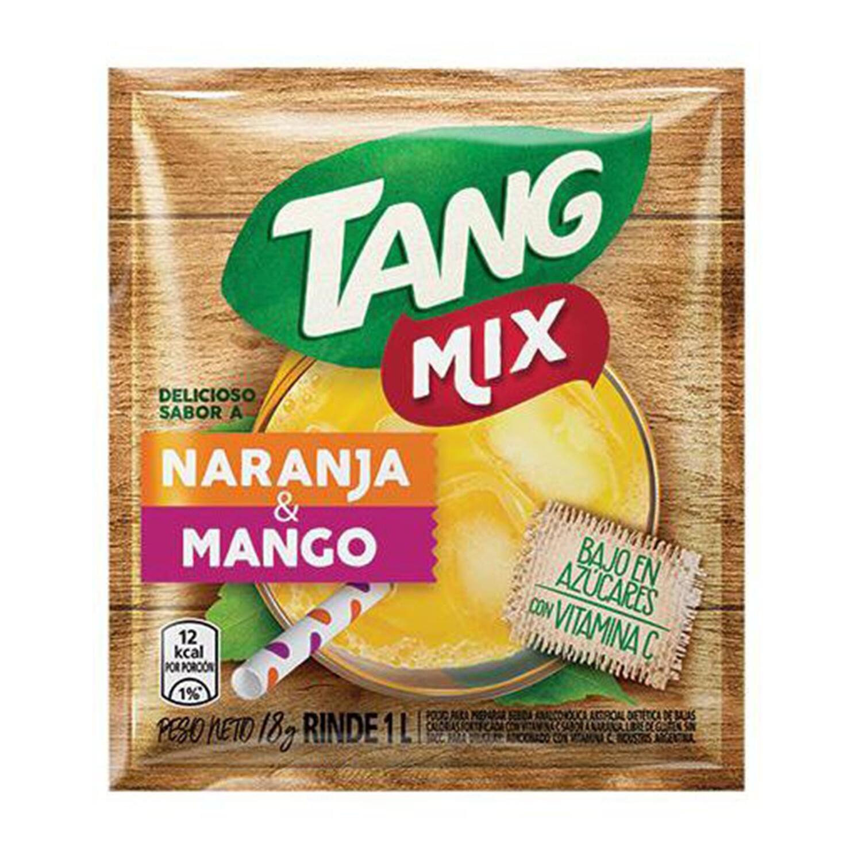 Jugo en Polvo Tang Naranja-Mango 18g