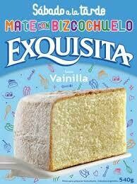 Bizcochuelo Exquisita x540Grs Vainilla