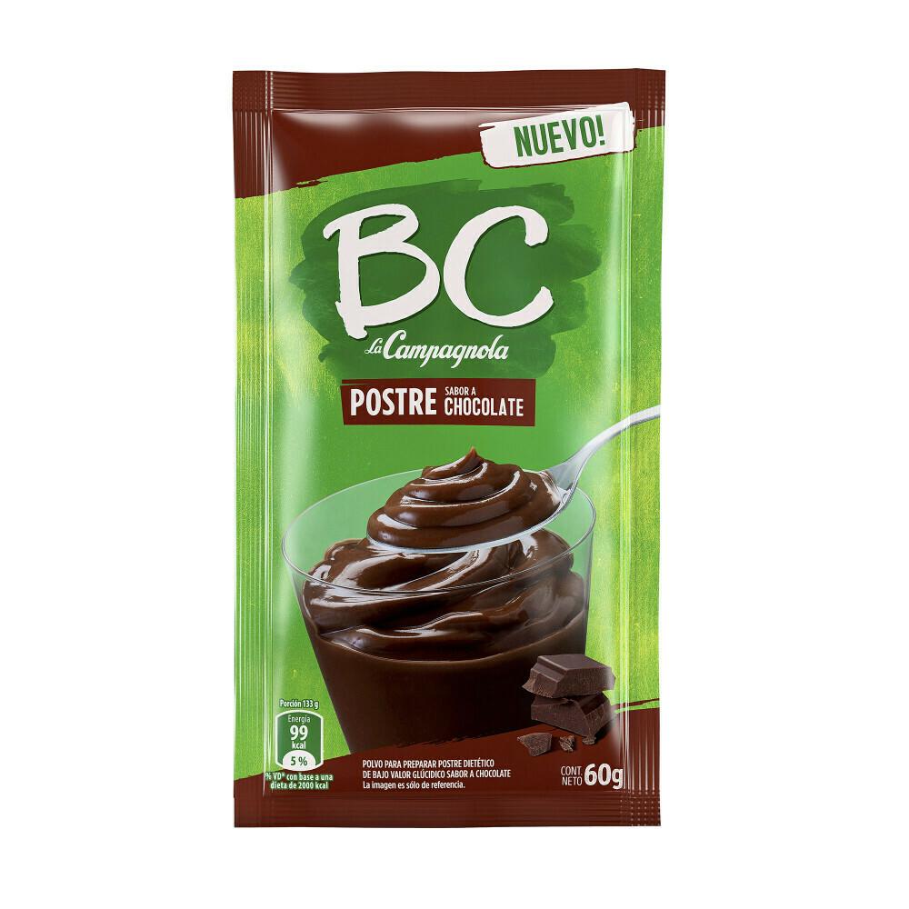 Postre BC sabor Chocolate x50Grs