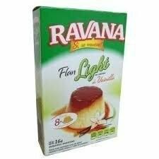 Flan Light Ravana Vainilla