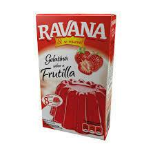 Gelatina Ravana x50Grs Frutilla