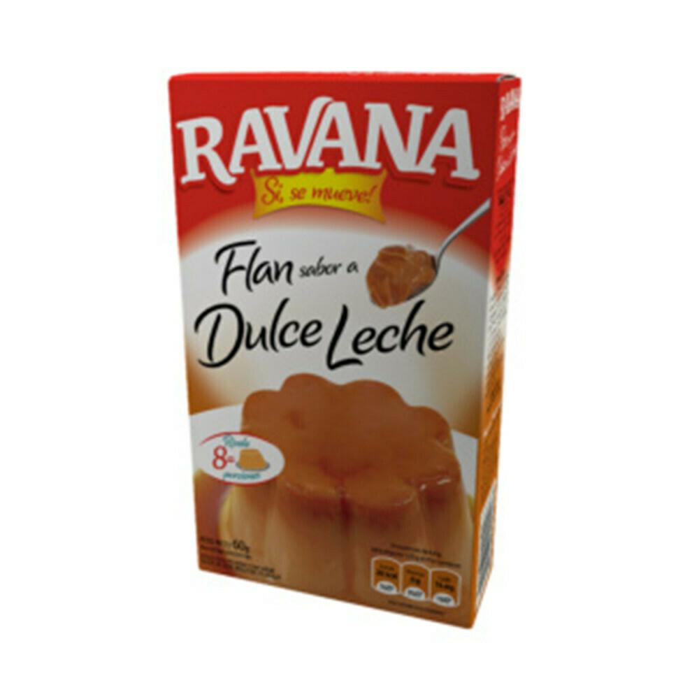 Flan Ravana x60Grs Dulce de Leche