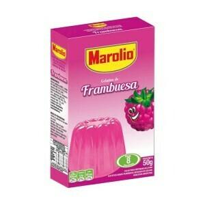 Gelatina Marolio x50Grs Frambuesa