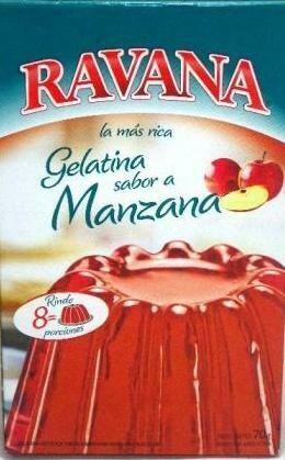 Gelatina Ravana x50Grs Manzana