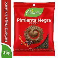 Alicante Sobre Pimienta Negra en grano