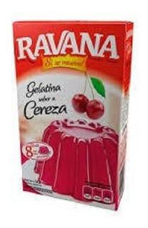 Gelatina Light Ravana x25grs Cereza