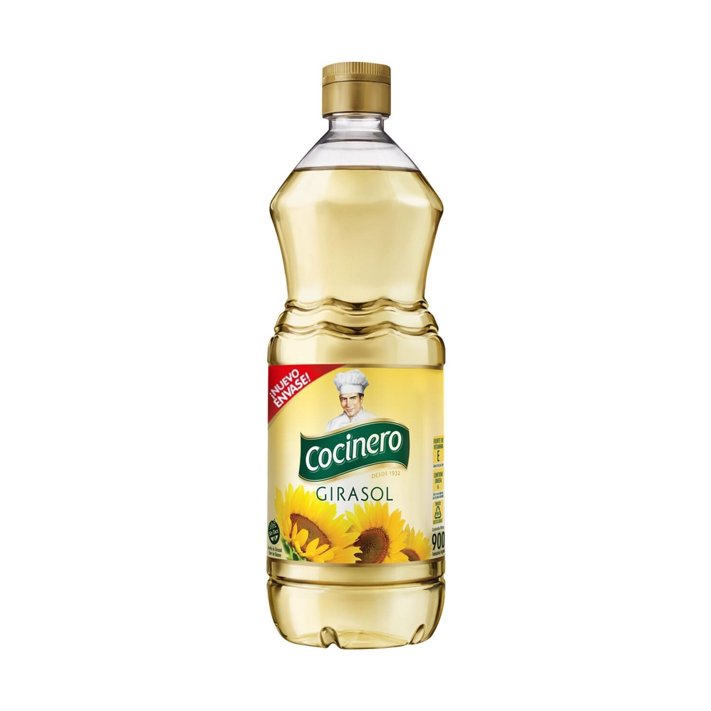Cocinero Aceite Girasol 900ml