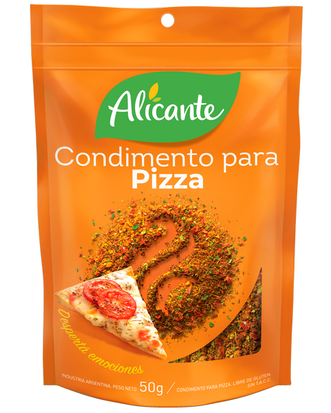 Alicante Sobre Condimento para Pizza