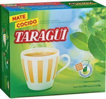Taragui Mate Cocido 50u