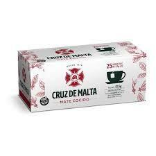 Cruz de Malta Mate Cocido 25u