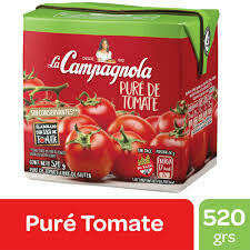 Pure de Tomate La Campagnola x520Grs