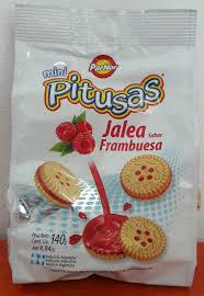 Pitusa Galletitas Jalea 140gr