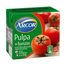 Pulpa de Tomate Arcor x520Grs