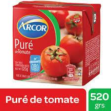 Pure de Tomate Arcor x520Grs