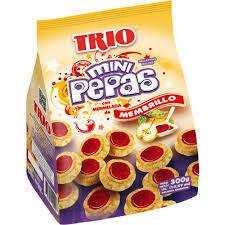 Trio Galletitas Pepas Mini 300gr