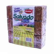Granix Galletitas Salvado sin sal 690g