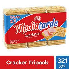 Mediatarde Galletitas Sandwich 321gr