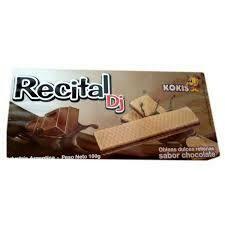 Recital Galletitas Oblea Chocolate 100gr