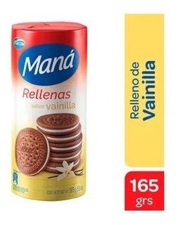 Mana Galletitas Rellena Vainilla 165gr