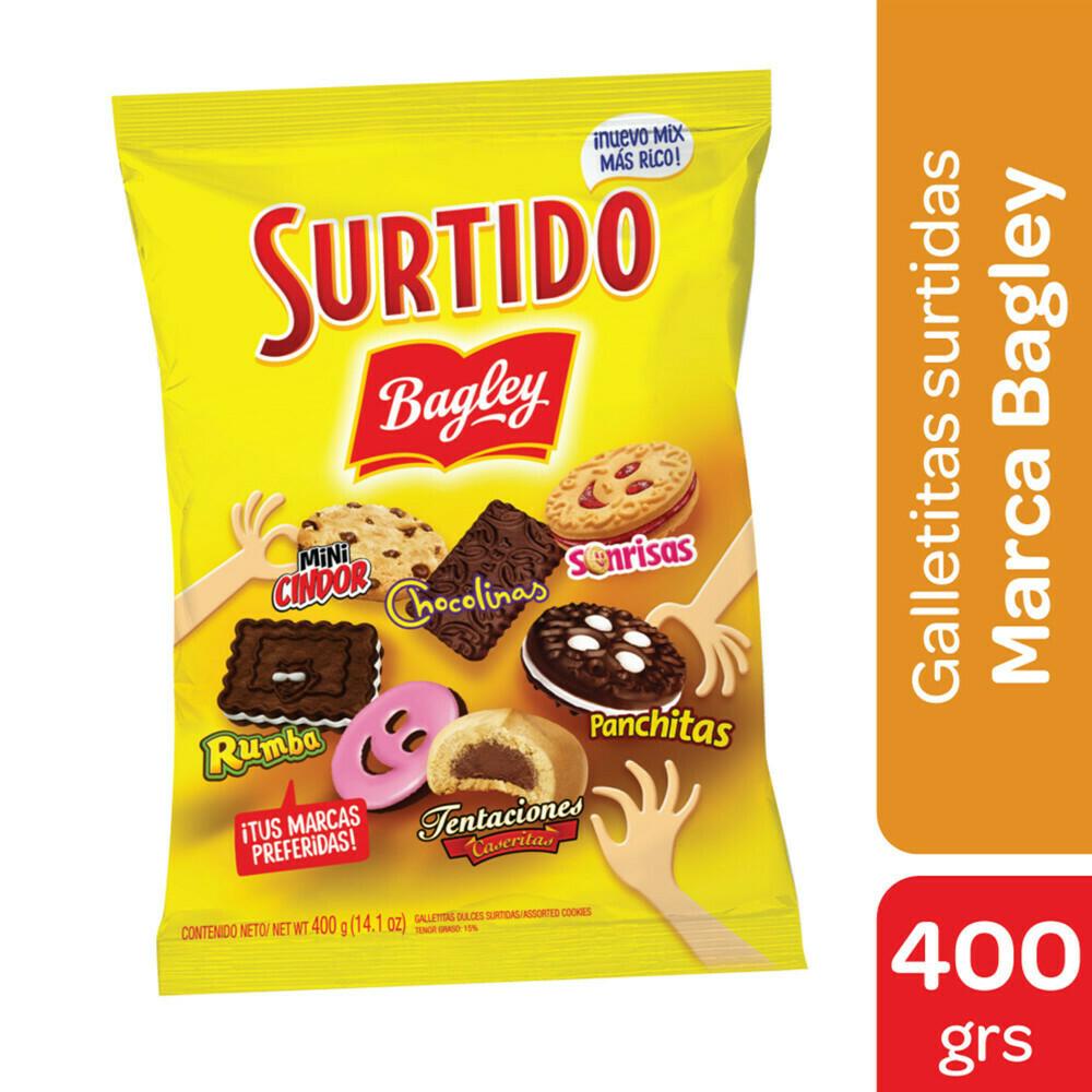 Bagley Galletitas Surtidas 400gr