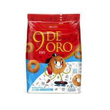 9 de Oro Galletitas Anillo Coco