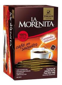 La Morenita Café Saquitos 20u