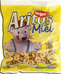 Granix Cereal Aritos Miel
