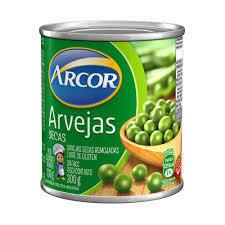 Arvejas Secas Arcor Lata 330gr