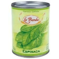 Espinaca  La Banda 350gr